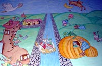 Nursery Rhymes Mural